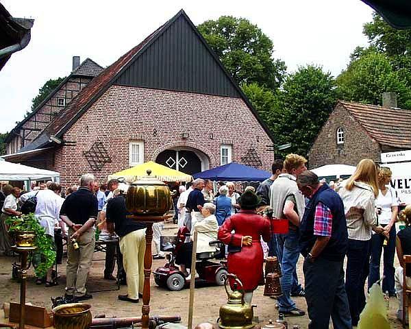 Heimatfest in Dorf Hervest