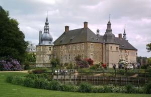 Schloss Lembeck von der Gartenseite