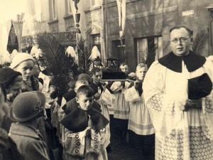 Bernhard van Heyden als Kaplan in Dorsten 1937