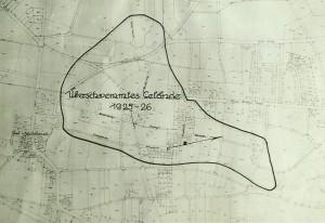 Überschwemmungsgebiet Holsterhausen 1925/26