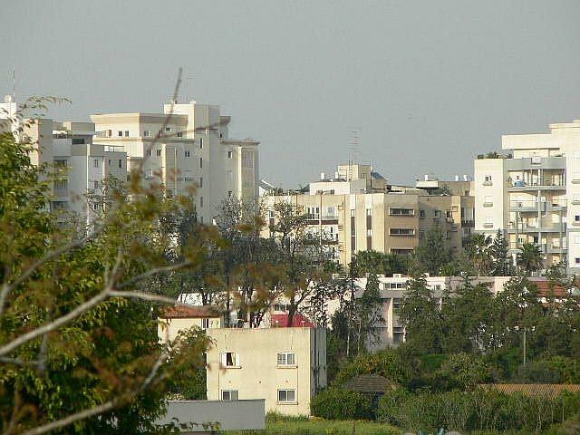 Der moderne Teil der Stadt