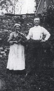 Hoppen-Ziska mit Sohn