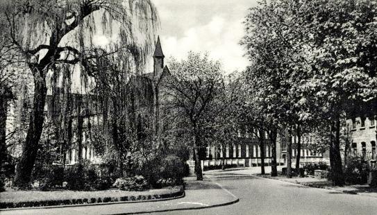 Aus dem Hospital erwuchs das Krankenhaus (früheres Krankenhaus an der Gahlener Straße)
