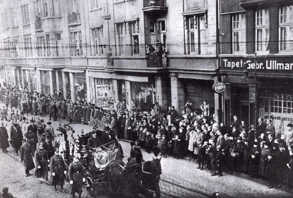 Überführung der Leiche Hermann Hutmachers nach Dorsten