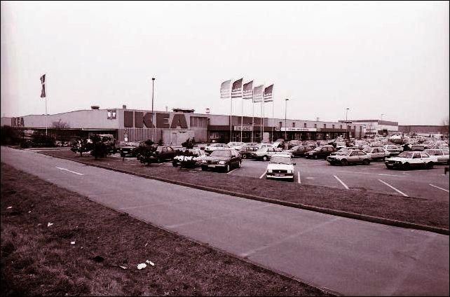 Ikea an der Marler Straße