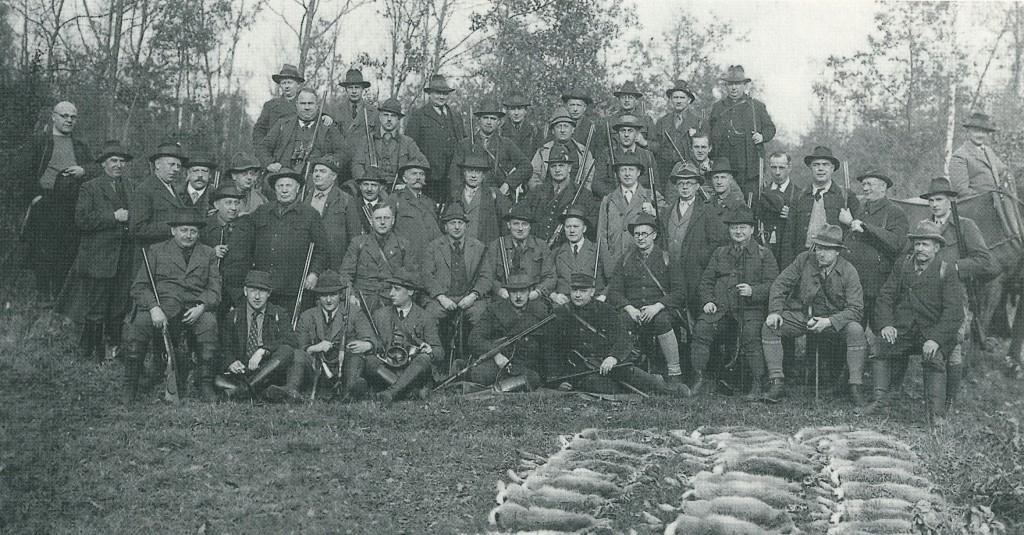 Dorstener Jagdgesellschaft 1934