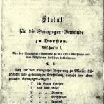 Statuten 1856