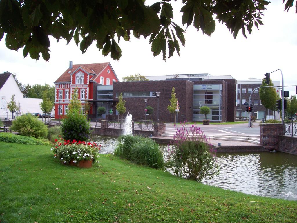 Jüdisches Museum Westfalen mit dem Alt- und angefügten Neubau 2014; Foto: Wolf Stegemann