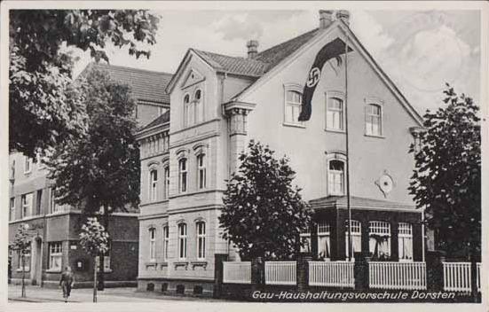 Das spätere jüd. Museumsgebäude als Gau-Haushaltungsschule in der NS-Zeit