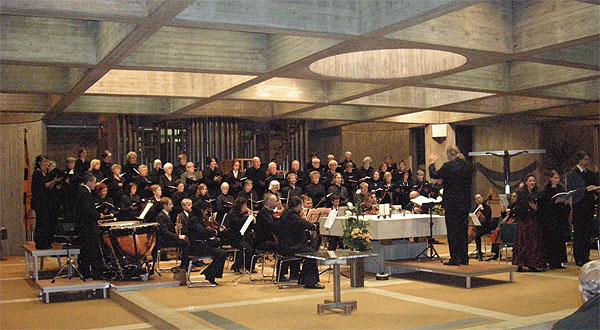 Paukenmesse Joseph Haydnsin der Barbarakirche 2009l