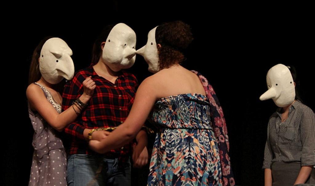 Maskenspiel der Gesamtschule Wulfen 2014; Foto: Wulfen-Wiki