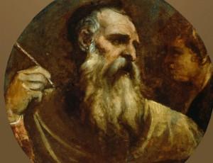 Evangelist Matthäus, Gemälde von Tizian