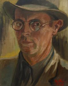 Richard Klein, Selbstporträt 1947