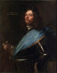 Feldmarschall von Königsmarck; Gemälde von Matthäus Merian d. J., 1651