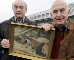 Herbert und Reinhard Köpper; Foto: Heeger