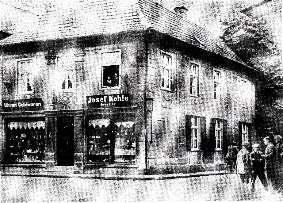 Eckhaus Kohle am Marktplatz