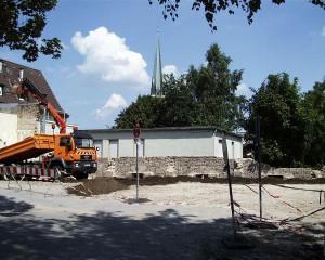 Abriss des Kolpinghauses 2003