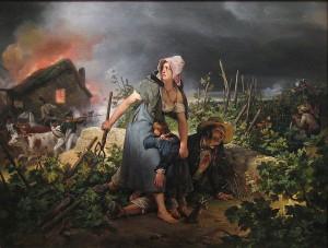 Revolutionskrieg Frankreich, Gemälde von Vernet