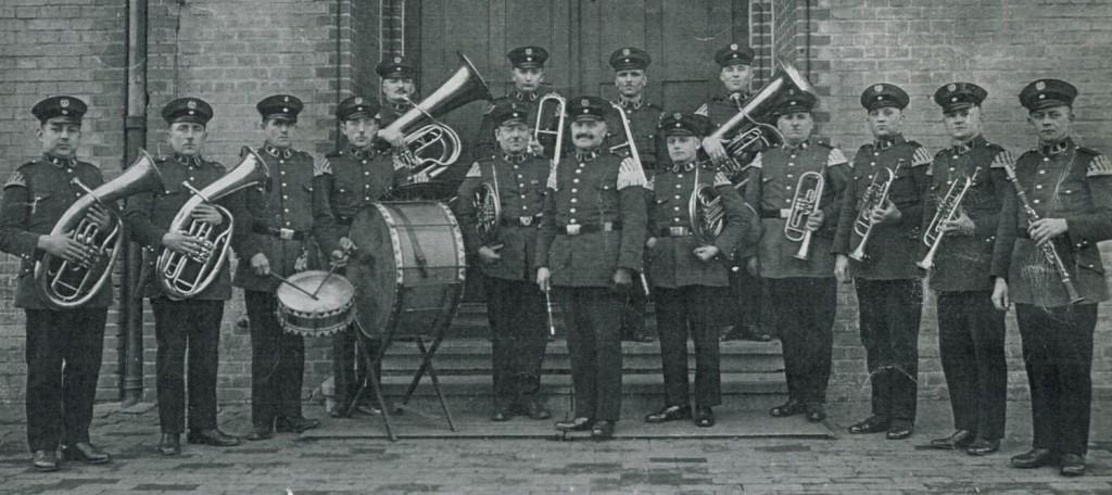 Kriegervereinskapelle Holsterhausen 1931