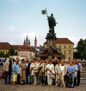 Kunstreise nach Franken 2001