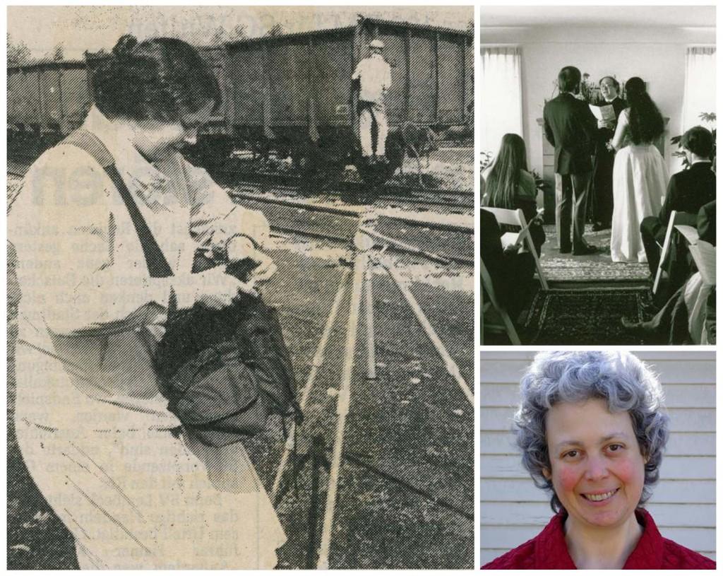 Deborah Lefkowitz in Dorsten, ihre christlich-jüdische Hochzeit in den USA und ihr heutiges Porträt