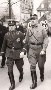 Kaspar Laukemper (r.) mit Otto Weißenberg