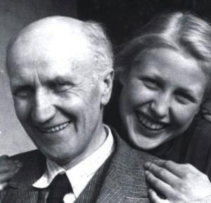 Prof. .... Laum mit Tochter
