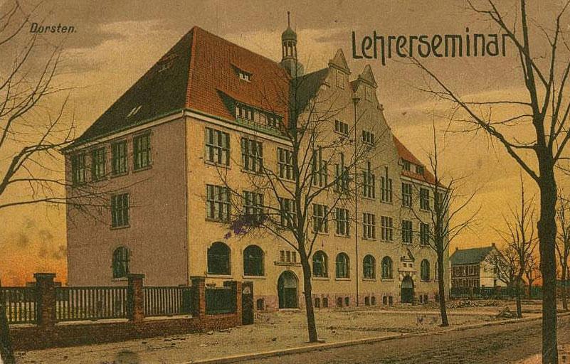 Gebäude an der Bochumer Straße vor 1910