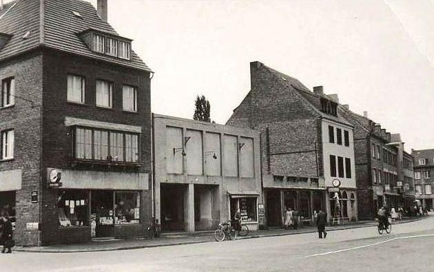 Schlüssel-Kino der Familie Stewing in der Lippestraße nach dem Krieg