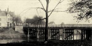 Alte Holzbrücke, abgebrochen 1927