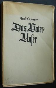 """Lohmeyer-Titel """"Das Vater-Unser"""""""