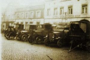 Militärfahrzeuge 1920