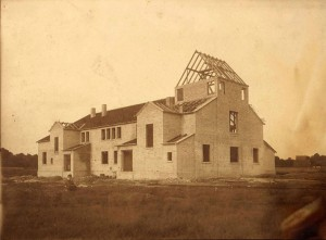 Die KIrche im Bau 1923