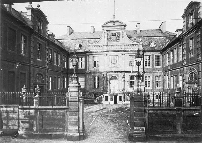 Merveldter Hof in Münster vor der Zerstörung
