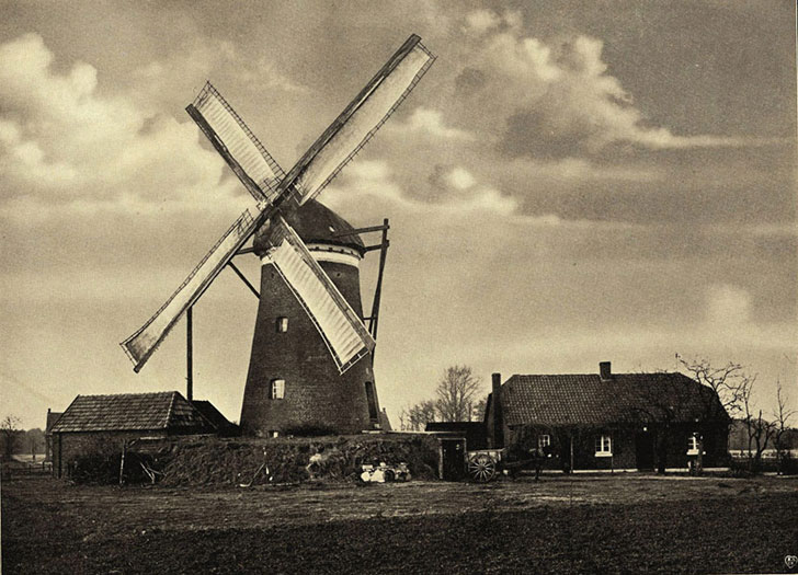 Windmühle in .................