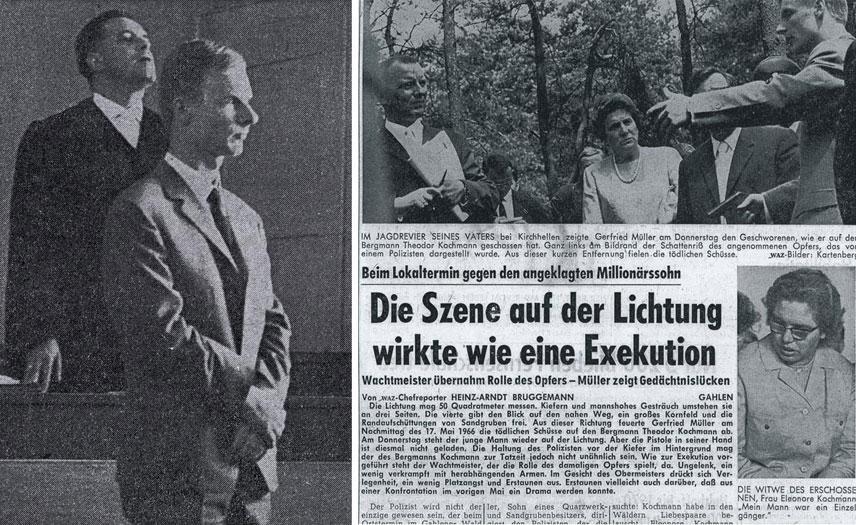 Fotos und Berichte aus der WAZ Essen vom Juli 1967