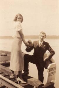 Julius Müller als Hochzeiter in New York