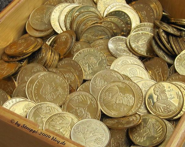 Goldgulden - Geld der letzten Jahrhunderte