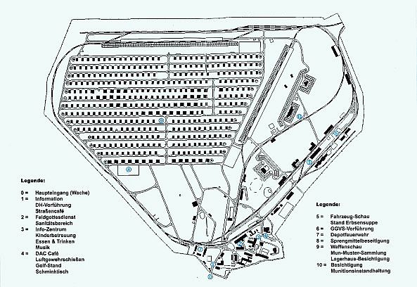 Lageplan der Muna; Foto: Wulfen-Wiki