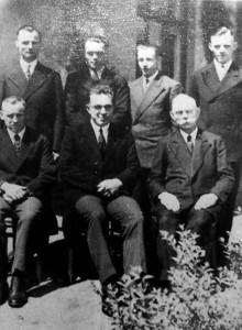 Aktivisten der ersten Stunden in Dorsten 1911