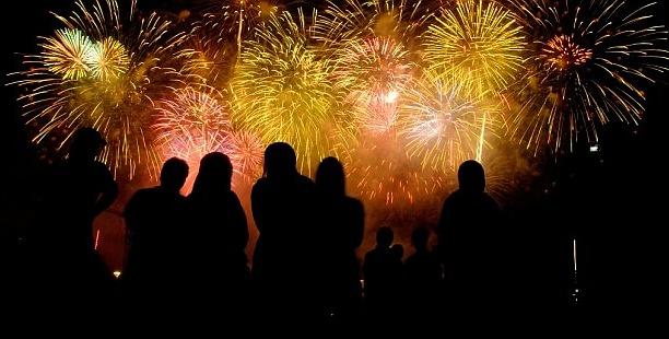 Silvester-Feuerwerk