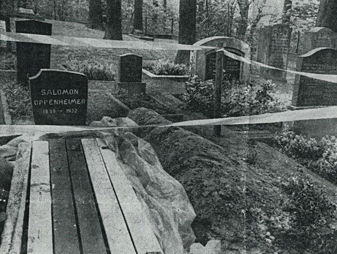 Grabschändung Oppenheimer