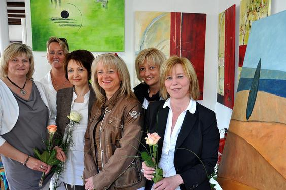 Manuele Schröder, Birgit Huerland, Kerstin Först, Annette Schulte, Gudrun Samson-Ekamp, Angelika Eversmann-Fehmer