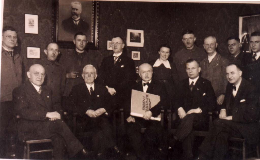 Paton-Betriebsfeier 1938