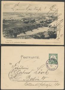 POstkarte aus Tsingtau 1903