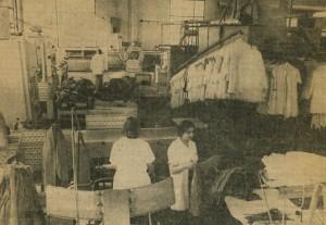 In der Halle 1978 (Zeitungsbild)