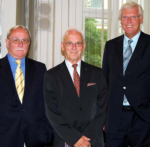 Verabschiednung Oberkreisdirektor Pezely (Mitte)