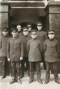 Dorstener Polizisten in den 1920er-Jahren
