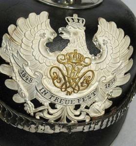 Preußischer Polizeihelm