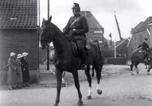 Ortsgendarm Baltruschat in Raesfeld 1937